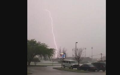 Así recibió Louisiana la tormenta este fin de semana