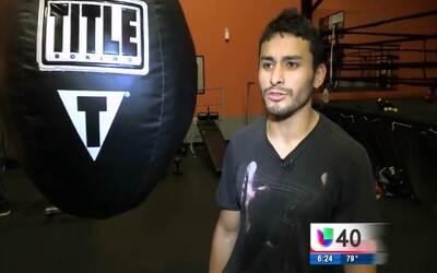 Un joven de origen mexicano busca alcanzar el éxito en el mundo del boxeo