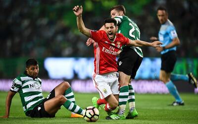 Sporting empató en casa 1-1 con Benfica