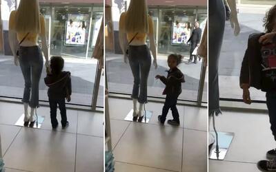 """Padre descubre a su hija """"convertida"""" en un maniquí"""