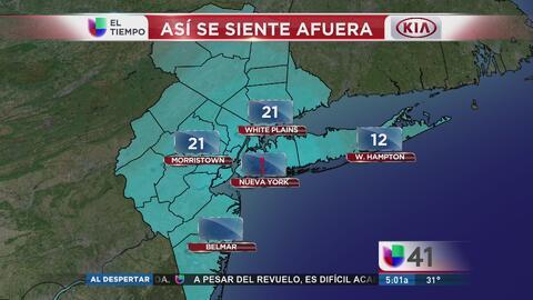 Temperaturas congelantes se quedan en el área tri-estatal