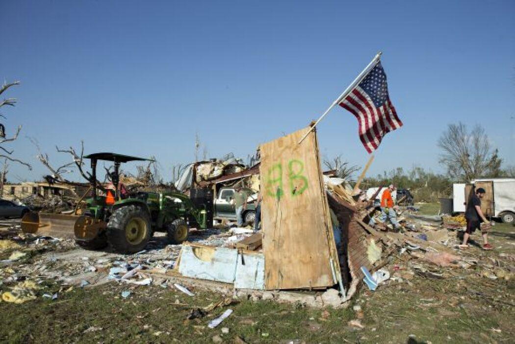 tornados oklahoma y Arkansas