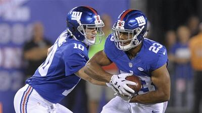 Highlights Temporada 2015 S3: New York Giants 32-21 Washington Redskins