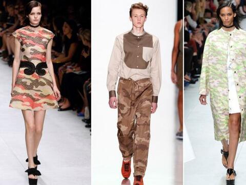 El estampado de camuflaje se pone de moda este otoño/invierno. &i...