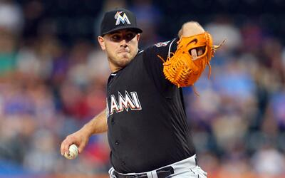 José Fernández, 24, pitching in August 2016.