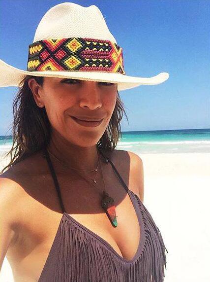 Karla Martínez, vacaciones abril 2016
