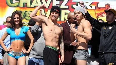 Julio César Chávez jr. en peso. Orlando Salido pierde el título en la ba...