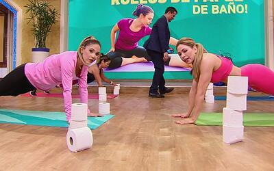 Un rollo de papel de baño te puede ayudar a bajar de peso y Claudia Moli...