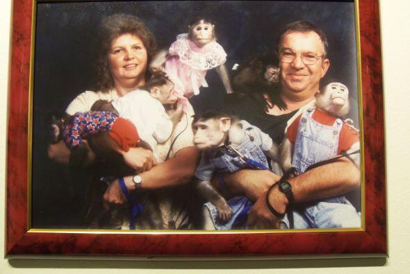 Dos padres de familia y sus seis simios…sin palabras.