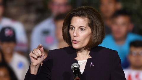 Former Nevada Attorney General and U.S. Senate candidate Catherine Corte...