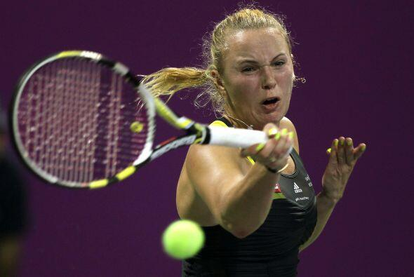 La danesa Caroline Wozniacki, volvió a estrellarse frente a Clijsters, a...