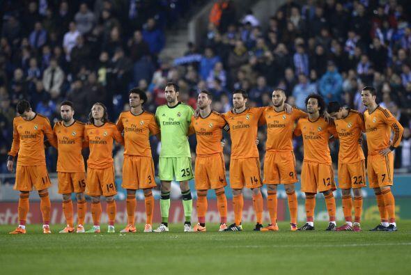 El Real Madrid intentaba sacar ventaja del empate de los líderes...