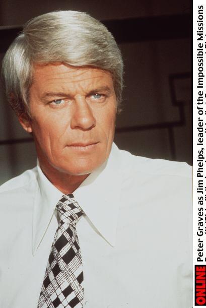 Peter Graves fue el agente Phelps en la recordada serie televisiva de lo...