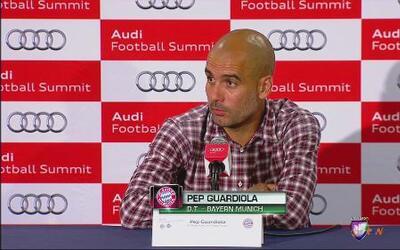 """Pep Guardiola: """"Llegamos disminuidos ante Chivas"""""""