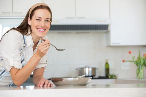 Una cucharadita... Siempre prueba las mezclas de pastel de carne, alb&oa...