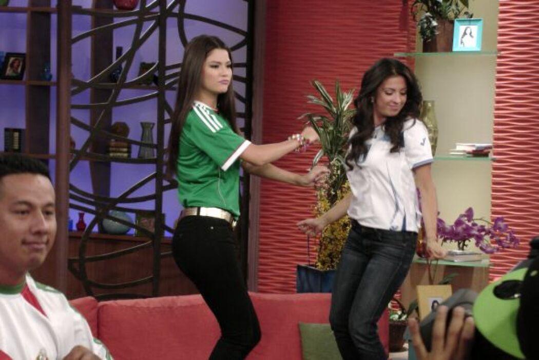 Ana Patricia y Maity no quisieron quedarse atrás y nos hicieron un baile...