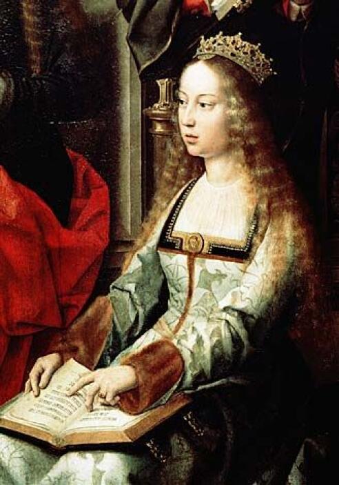 """La escritora aborda el tema en """"La carta de amor de Cristóbal a la Reina..."""