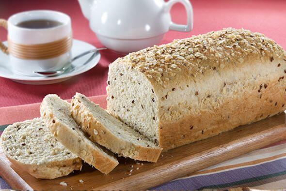 Pan de avena dos granos  Esta receta te encantará por f&aac...