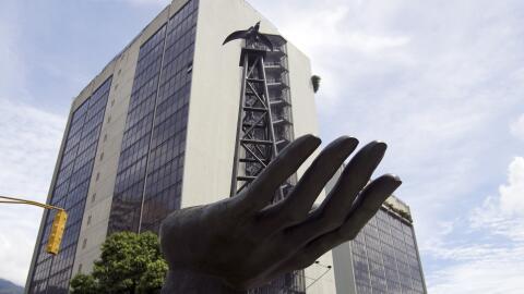 Edificio de PDVSA en Caracas.