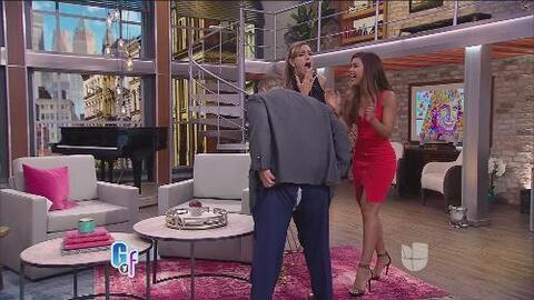 Qué pena, a Raúl de Molina se le rompieron los pantalones en pleno show