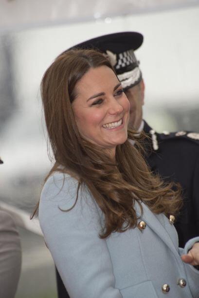 El embarazo le sienta muy bien a la duquesa.