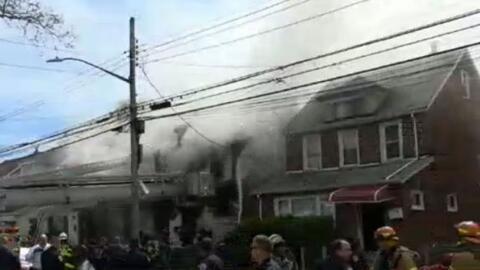 'Nueva York en un Minuto': autoridades investigan las razones del incend...