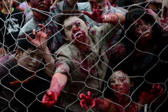 Sólo hay que ver a estos delirantes zombis que se preparan para un ataque.