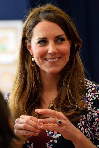 Y es que contrario a otras embarazadas, Kate se muestra como una mujer m...