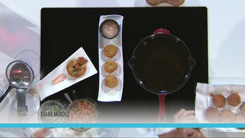 Rellenos de Batata con Longaniza de Pollo La Aguadillana