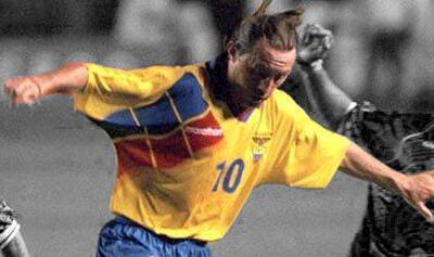 Los mejores goles de Copa América. #28 Álex Aguinaga a Uruguay. Ecuador...
