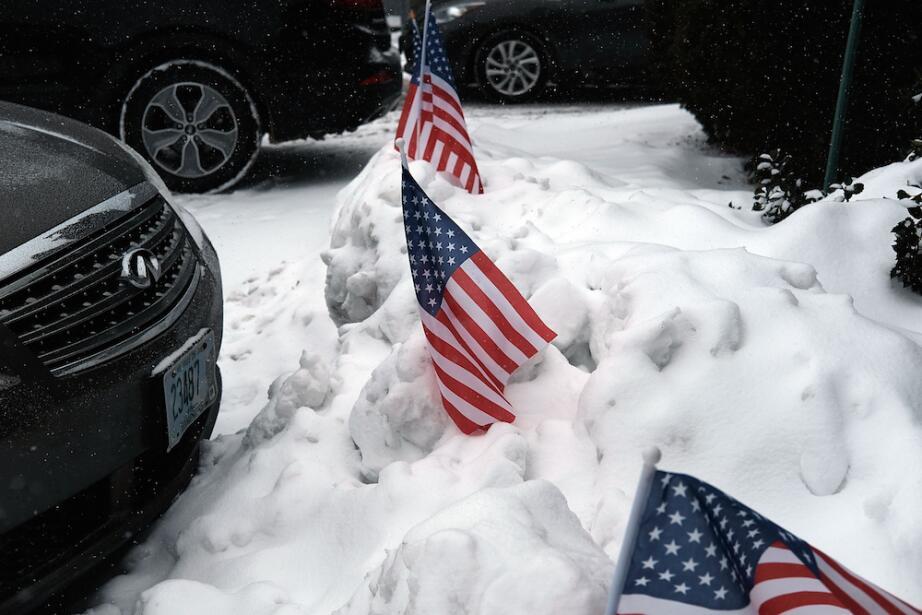 ¿Por quién vota la nieve en las primarias de New Hampshire? primarias-nh...