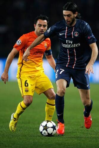 Xavi regresó para manejar los hilos del equipo.