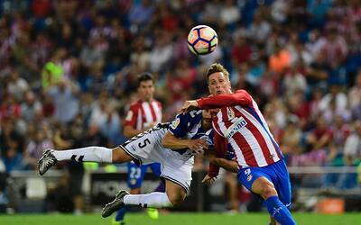 Atlético de Madrid no pudo vencer al Alavés en el Vicente...