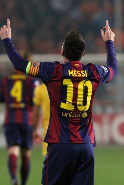 Lionel Messi agigantó este martes en Chipre su leyenda y la esplendorosa...