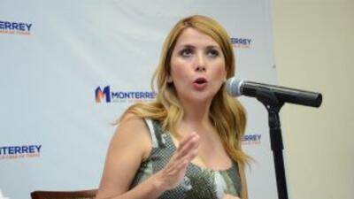 Margarita Arellanes, alcaldesa de Monterrey. (Foto Twitter)