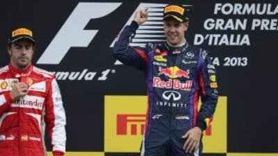 El piloto alemán se llevó la carrera de Monza, por detrás del español Al...
