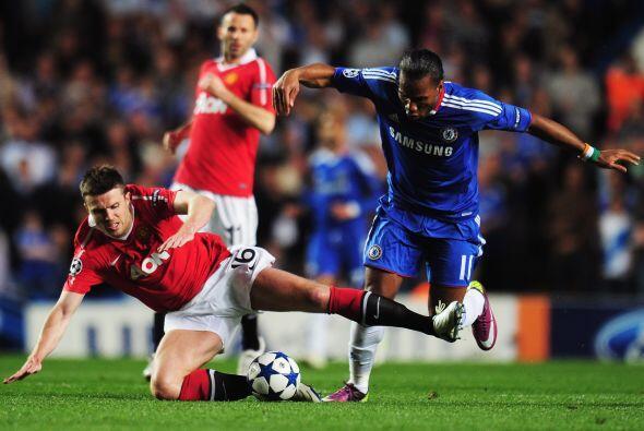 Chelsea recibió al Manchester United, dos equipos con amplia rivalidad e...