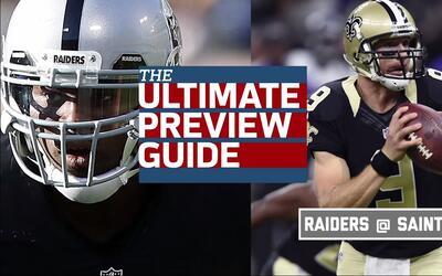 En un duelo parejo, ¿qué deben hacer Raiders y Saints para ganar?