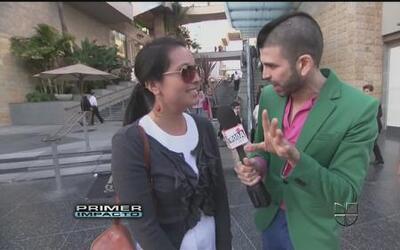 Jomari Goyso salió a buscar las latinas están con las tendencias de moda...