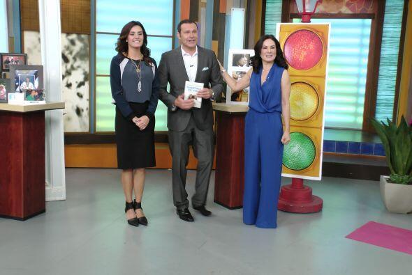 Gloria Calzada y Alejandra Llamas llegaron a Despierta América para pres...