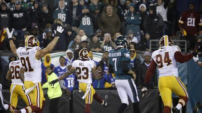 Redskins 38-24 Eagles: Washington corta el vuelo de Eagles y de paso de...