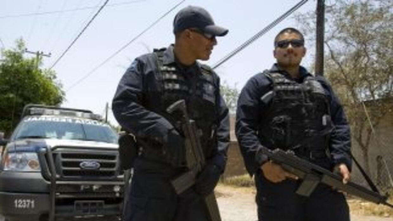 Una patrulla de la Policía Municipal de Los Mochis, en Sinaloa, fue atac...