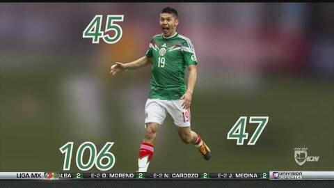 Oribe Peralta, el mejor goleador mexicano del momento