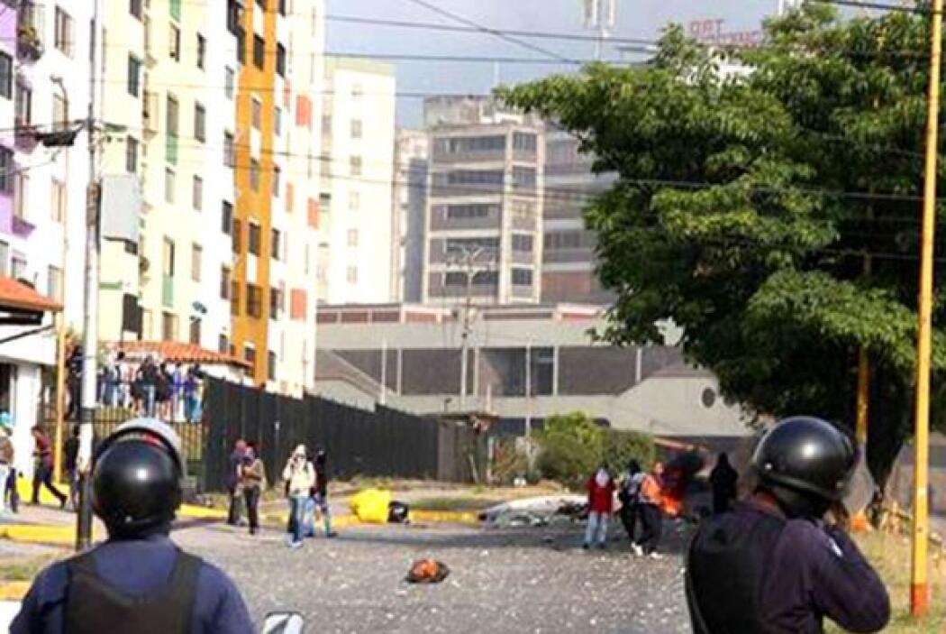 El miércoles los opositores volvieron a las calles tras la violenta jorn...
