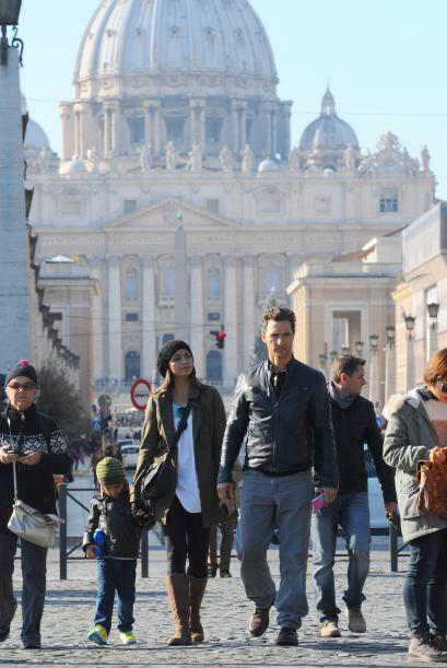 Matthew McConaughey y Camila AlvesEste galán de las comedias románticas...