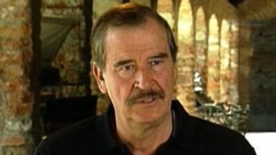 Entrevista exclusiva a Vicente Fox