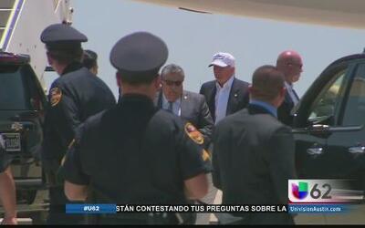 Así fue la visita de Trump a la frontera
