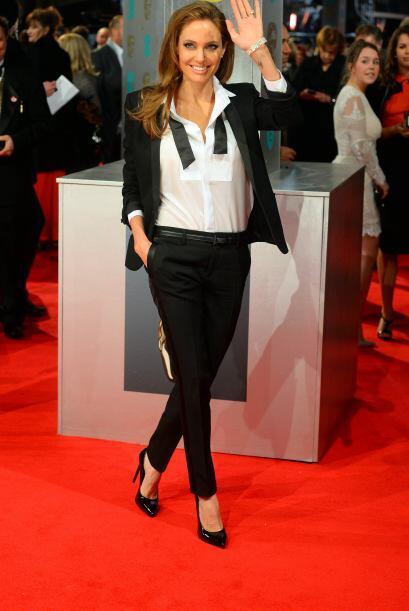 Sin duda alguna fue una de las más 'flasheada' de los BAFTA 2014....