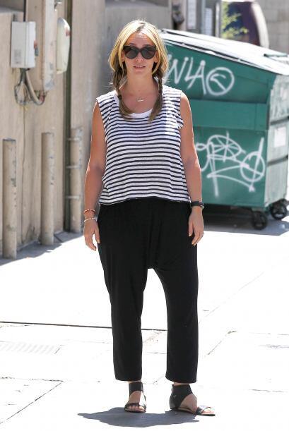 Se nota que Jennifer Love Hewitt aún no ha podido recuperar su 'ex' cuer...