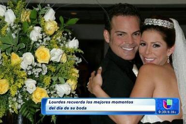 Recordando el día de la boda de Lourdes Stephen